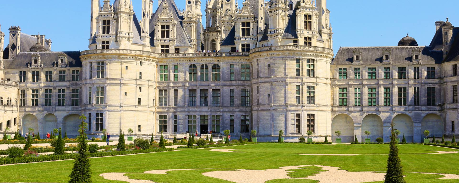 Garten und Schloss von Chambord. © Ludovic Letot