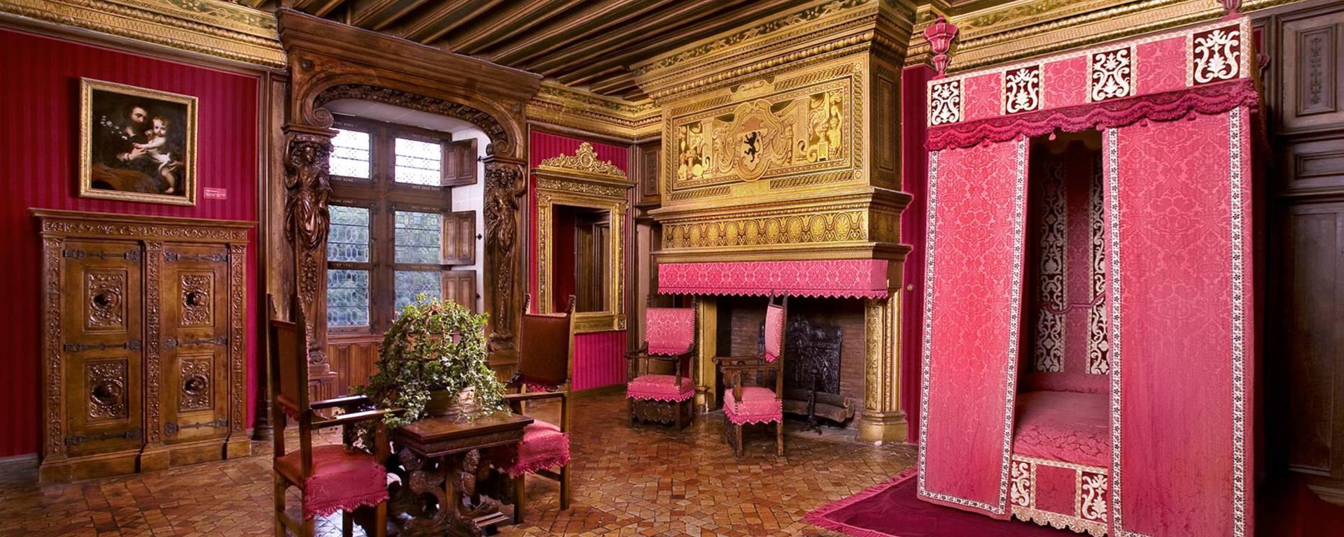 Das Innere von Schloss Chenonceau