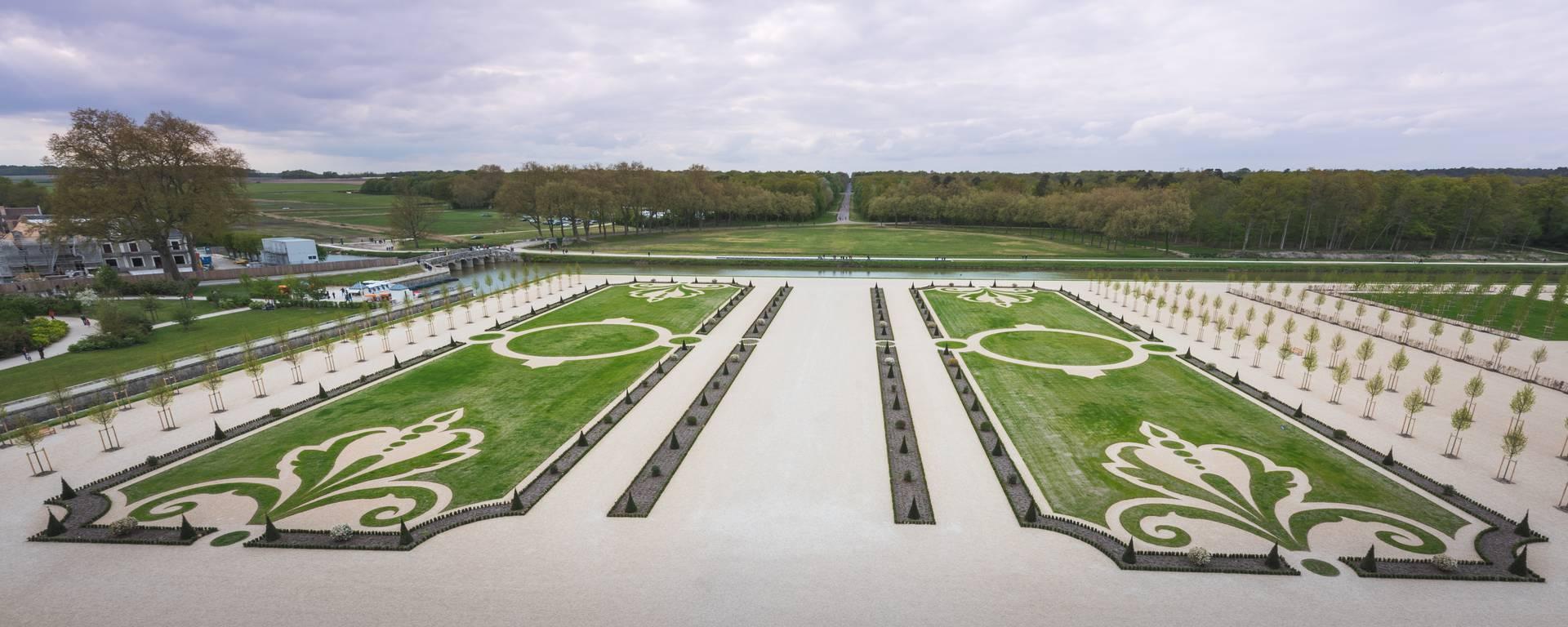 Die französischen Gärten von Chambord