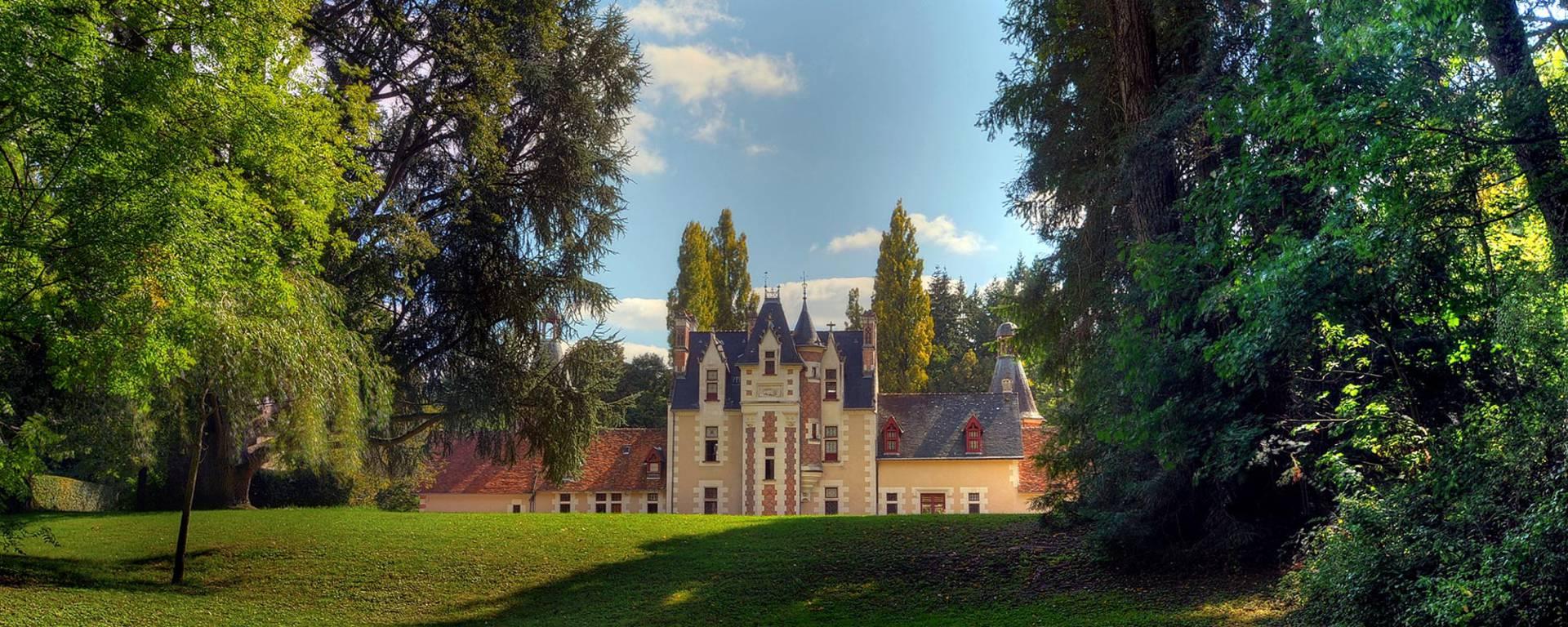Der Schlosspark von Troussay
