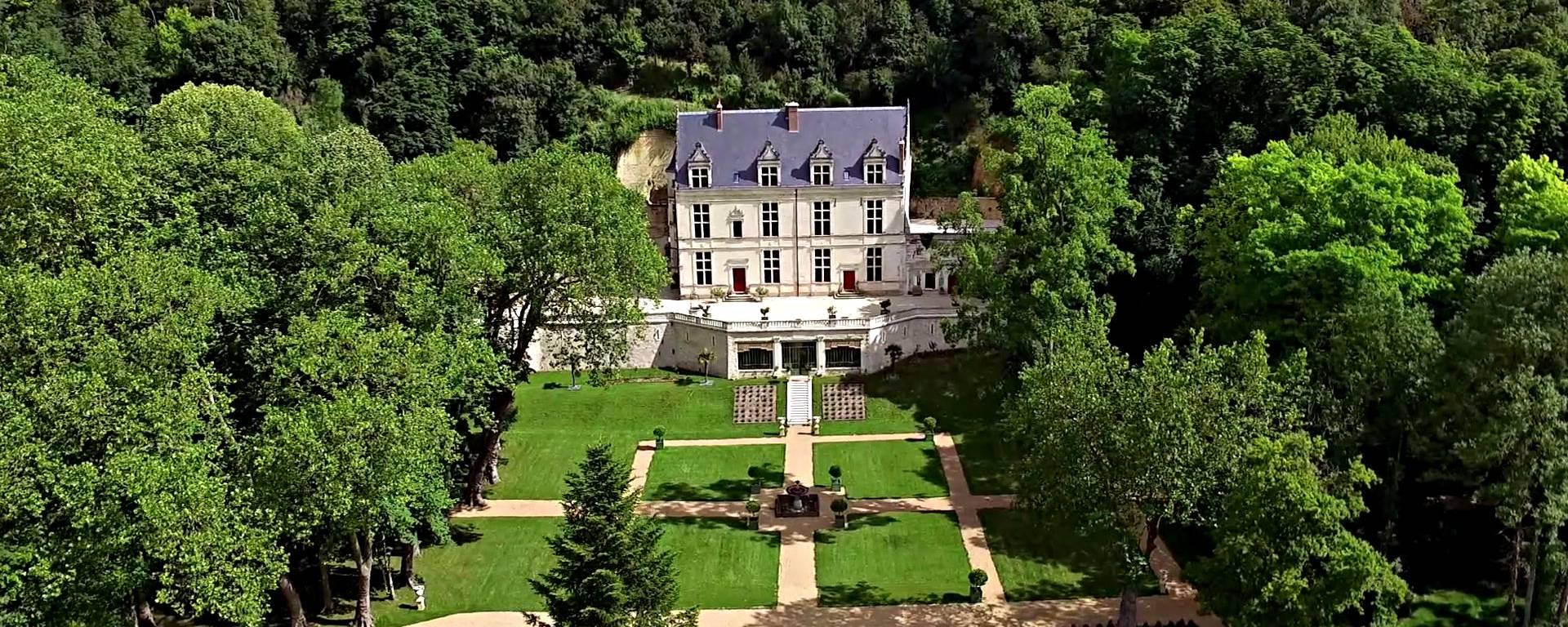 Luftansicht von Château Gaillard  © OTBC