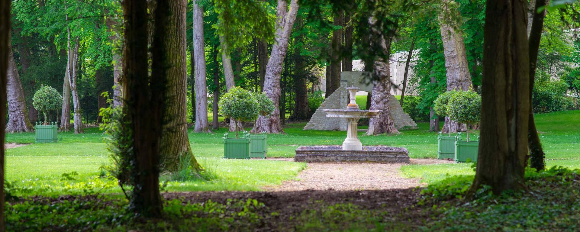 Die Renaissance-Gärten von Château Gaillard © OTBC