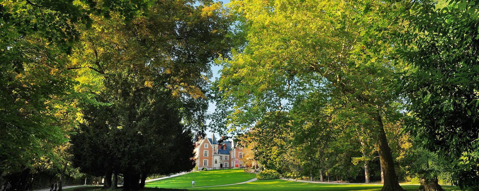 Schlosspark von Le Clos Lucé