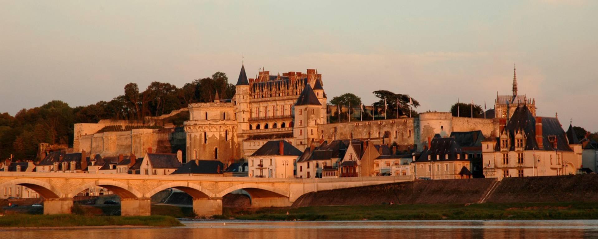 Blick auf das Schloss von Amboise © JF Le Scour