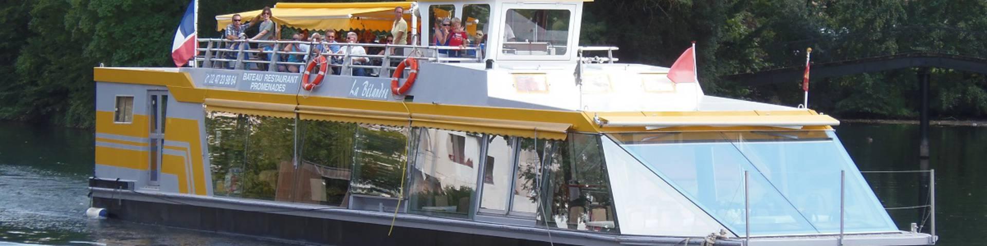 Kreuzfahrt auf der Cher mit La Bélandre. © OTBC