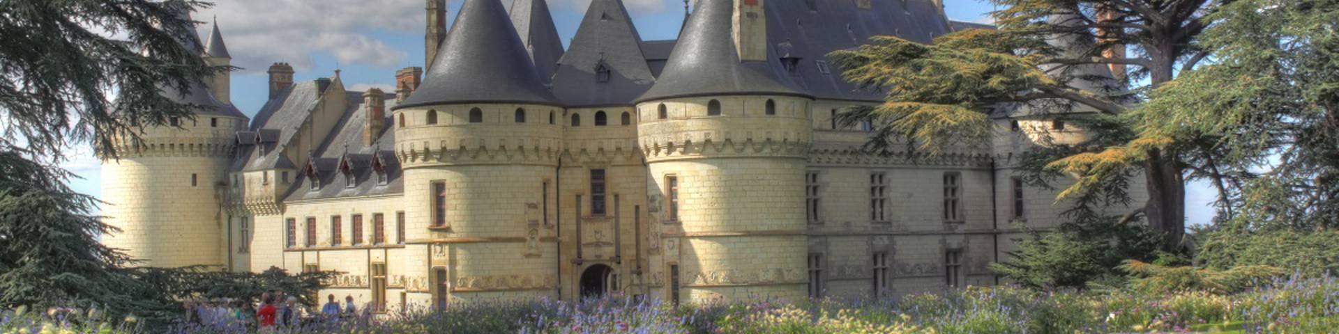 Le domaine de Chaumont-sur-Loire. © Loisirs Loire Valley
