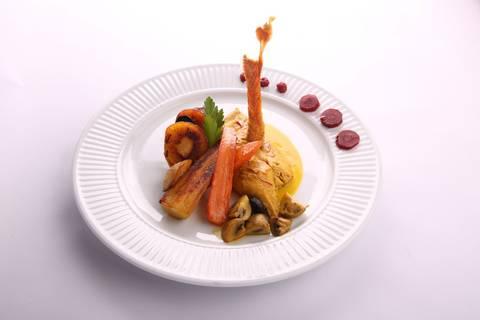 Rezept La Poularde 1550 mit Safran