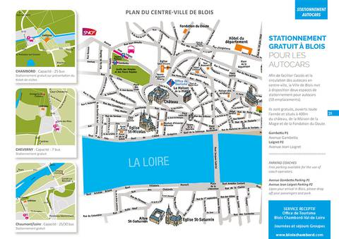 Planen Sie Parkautos Blois