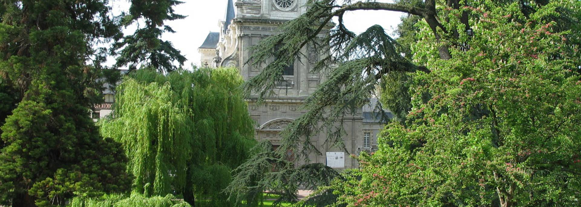 Der Augustin Thierry Garten in Blois © OTB