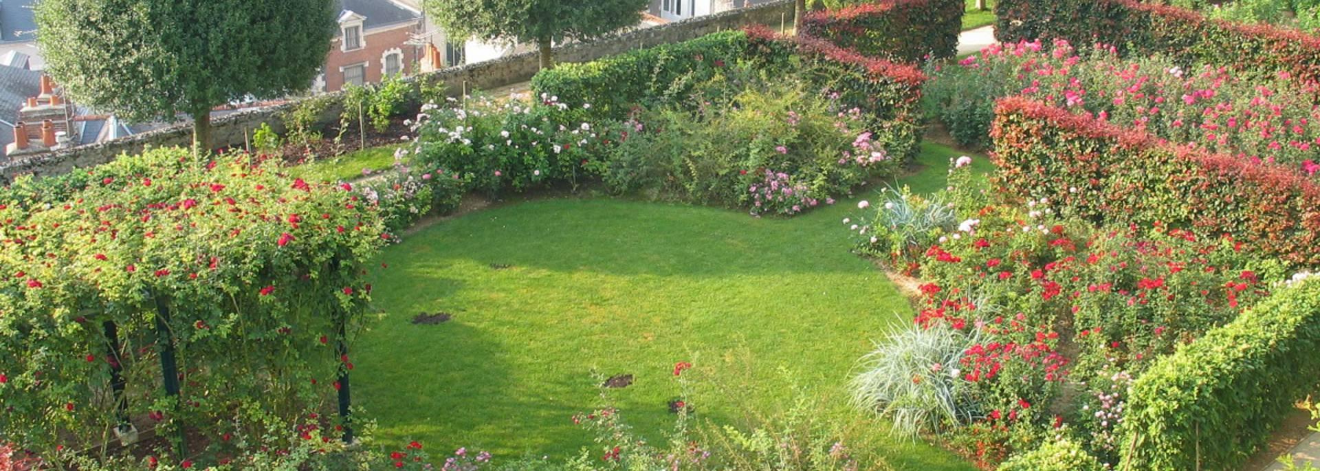 Die Gärten des Bistums in Blois © OTB