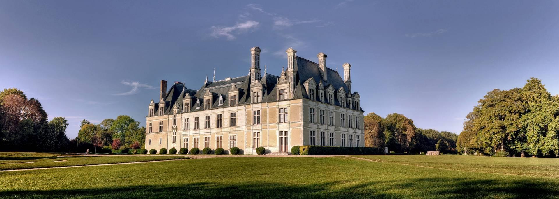 Der Park von Schloss Beauregard