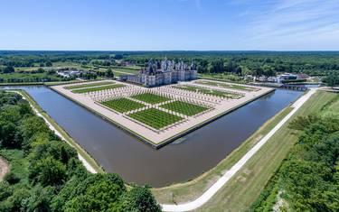 Schloss Chambord, wichtigstes Bauwerk unter der Herrschaft von François Ier. © OTBC