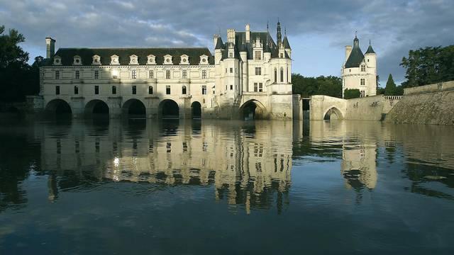 Das Schloss Chenonceau über dem Cher. © OTBC