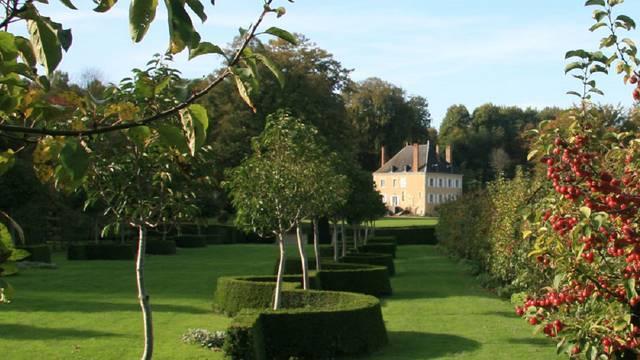 Die Gärten von Plessis Sasnières in Vendôme