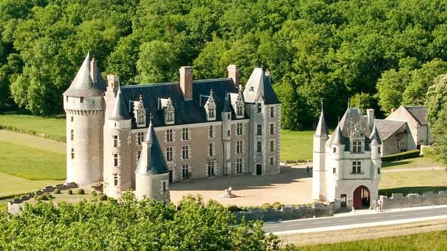 Montpoupon Schloss