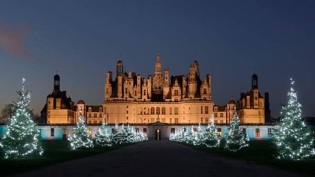 Chambord zu Weihnachten © L. de Serres