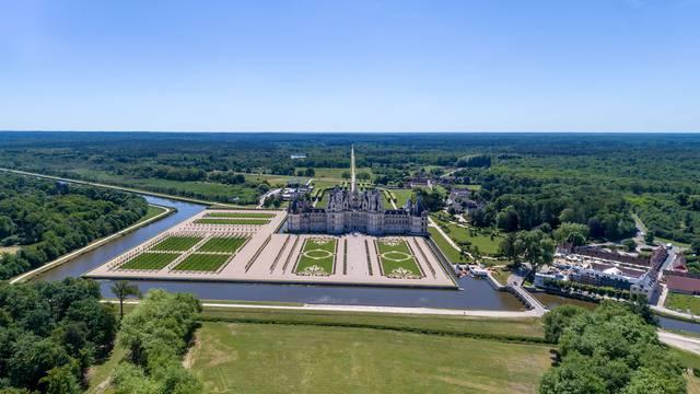 Chambord Schloss © Drone-Contrast