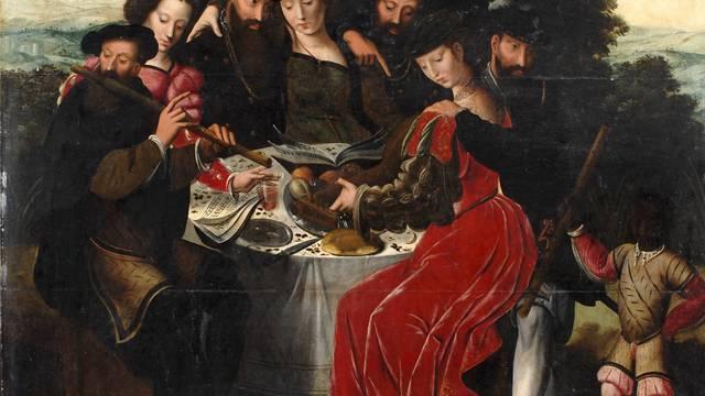 """Ambrosius Benson,""""Das Konzert nach der Mahlzeit"""", um 1550, Öl auf Holz © DR"""