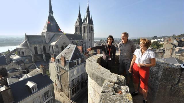 Spaziergänge und Besichtigungen auf den Höhen von Blois. © OTBC