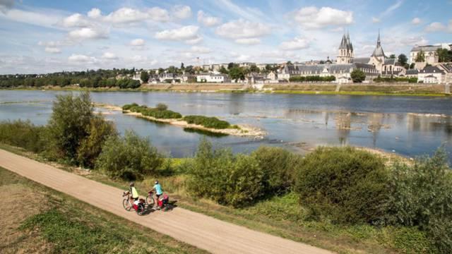 """""""Die Loire mit dem Fahrrad"""" in Blois"""