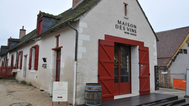 Das Haus des Weines in Chambord