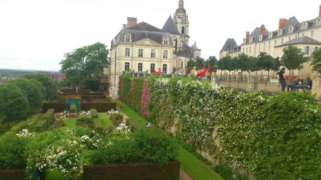 Die Gärten des Bistums Blois. © OTBC