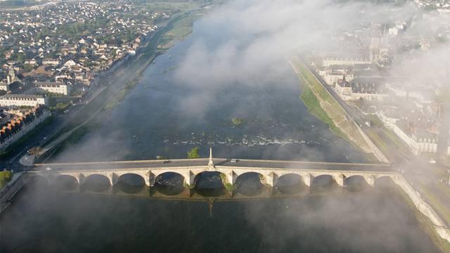 Im Heißluftballon über Blois