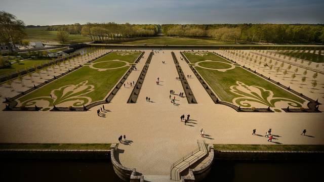 """Die """"französischen Gärten"""" von Chambord  © Leonard de Serres"""