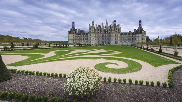 Der französische Garten von Chambord