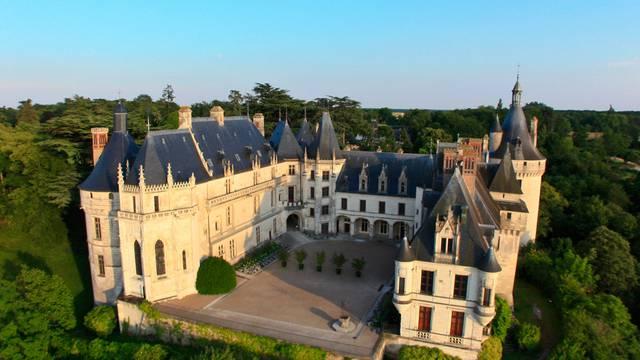 Das Schloss von Chaumont-sur-Loire © OTBC