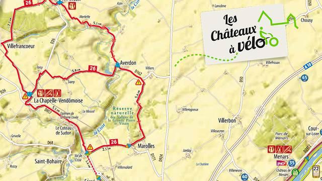 Itinéraire 26 - Châteaux à Vélo