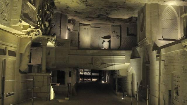 """Die """"Cave des Roches"""" in Bourré © DR"""