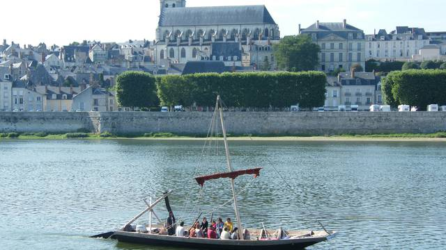 Futreau an der Loire in Blois. © OTBC