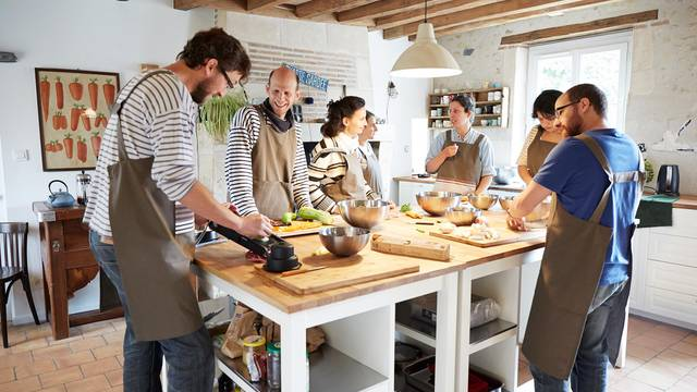 Gourmet-Workshops in Blois-Chambord