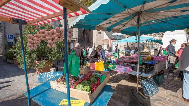 Der Blois Markt
