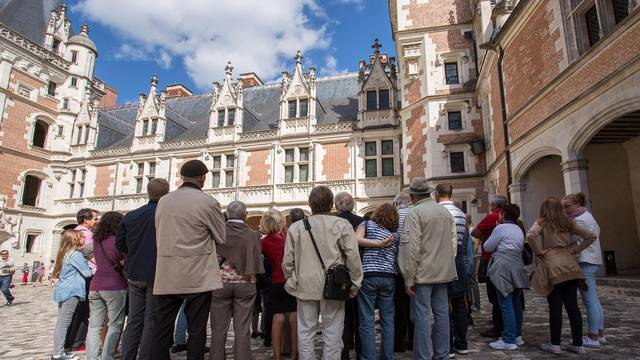 Besuch des königlichen Schlosses von Blois