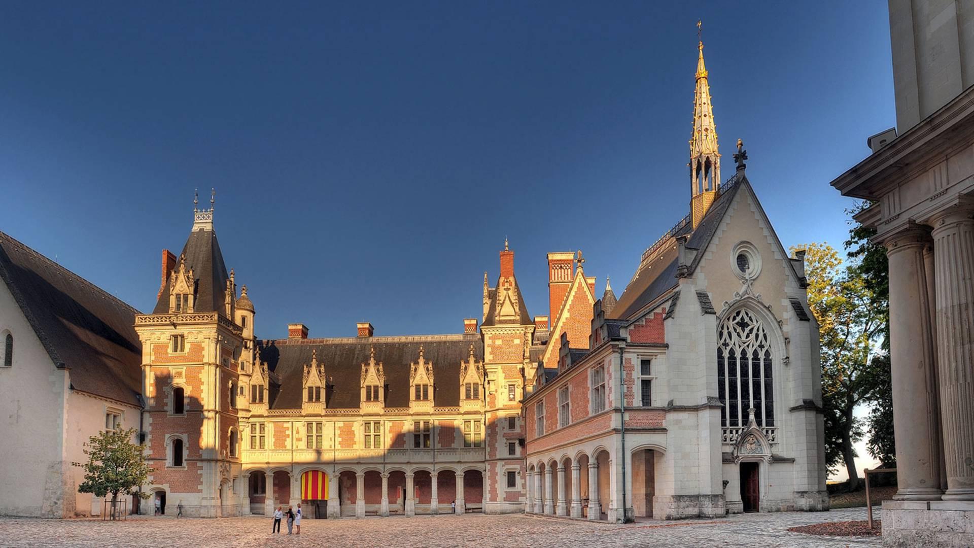 Das Schloss von Blois