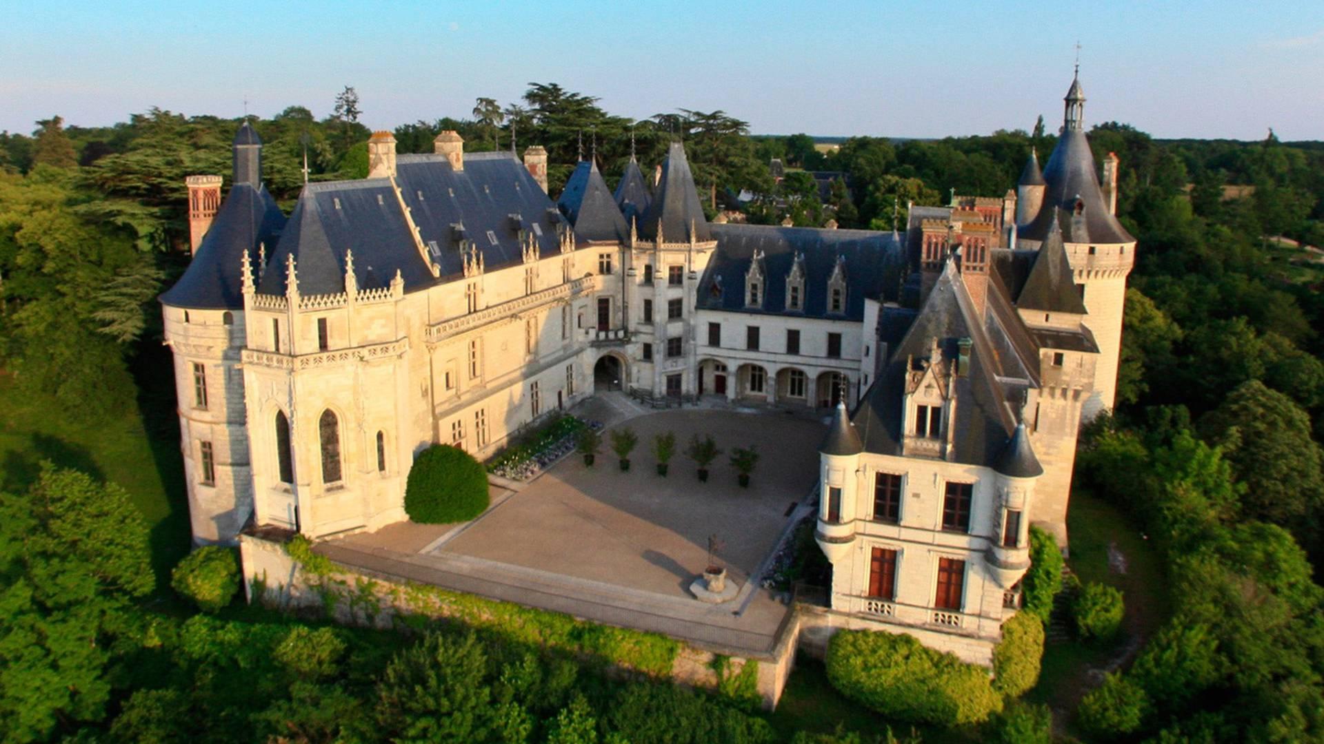 Das Schloss von Chaumont-sur-Loire