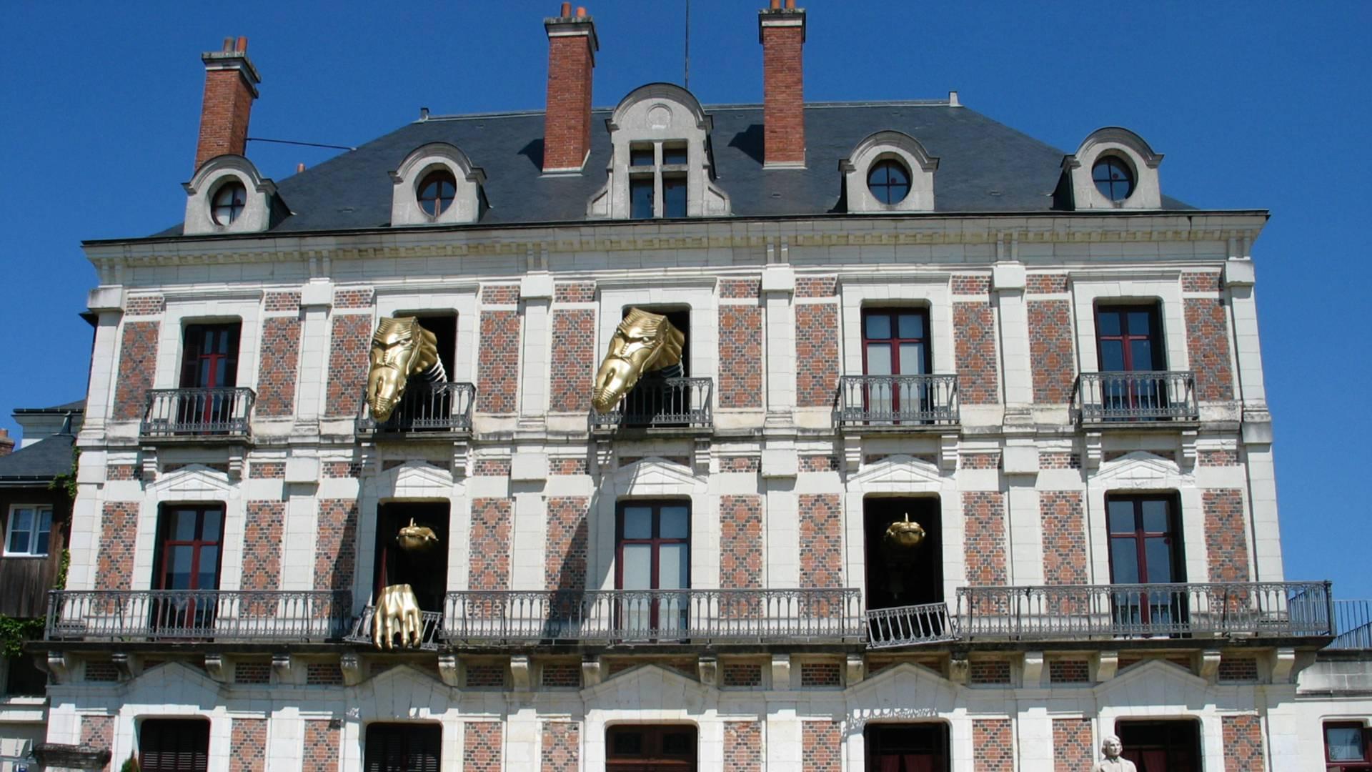 """Die """"Maison de la magie"""" in Blois"""