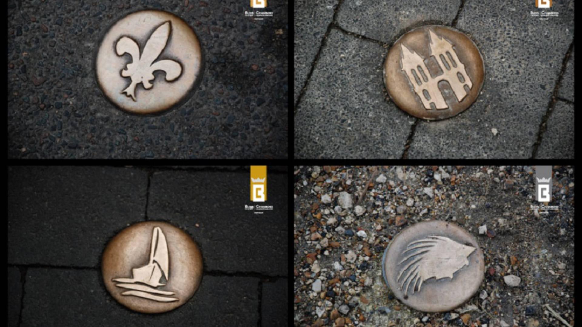 Die Bronzenägel der Stadt Blois