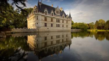 Das Schloss von Azay le Rideau. © Léonard de Serres