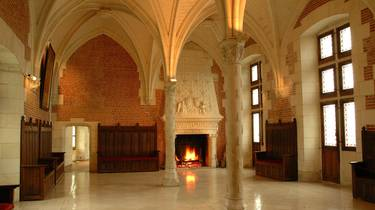 Die Ratskammer im Amboise Schloss. © JF Le Scour