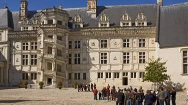 Schloss von Blois. © Atout France Michel Angot