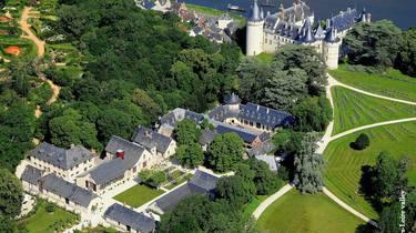 Das Landgut von Chaumont-sur-Loire. © Loisirs Loire Valley