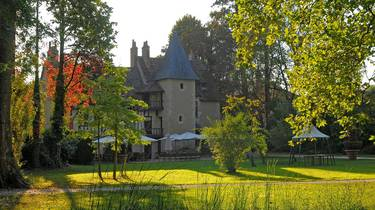 Das Restaurant Le Prieuré in Amboise. © OTBC