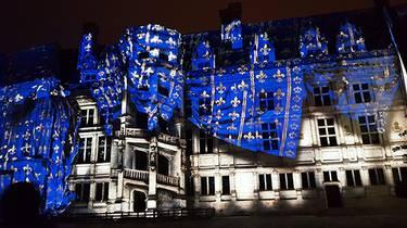 Klang und Licht im Königsschloss von Blois.