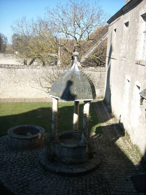 Der Ehrenhof des Schlosses von Talcy, in dem Pierre und Cassandre sich trafen © OTBC