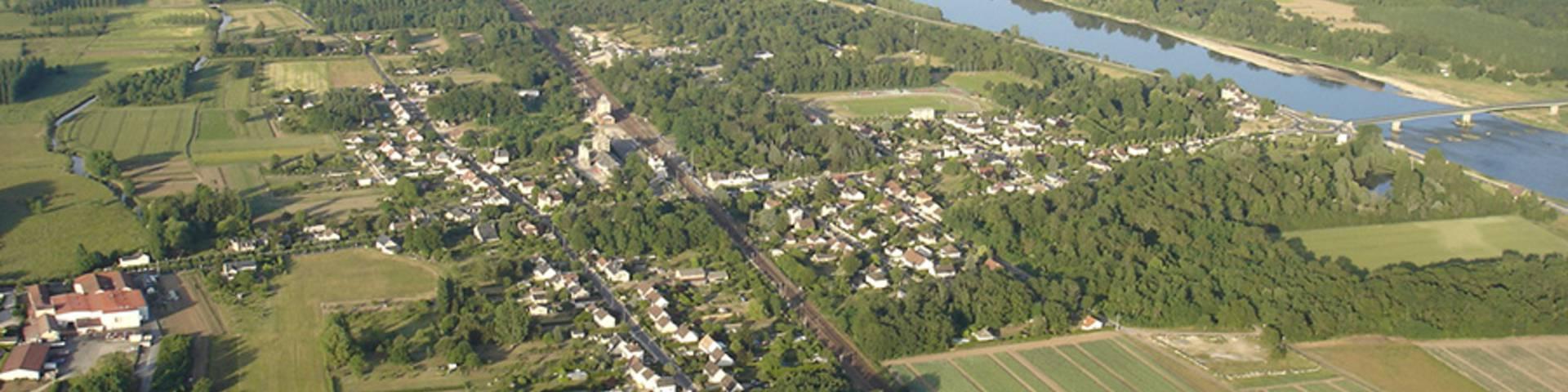 Onzain, ein Dörfchen im Loire-Tal