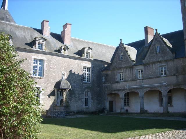 Der Schlosshof von Talcy  © OTBC
