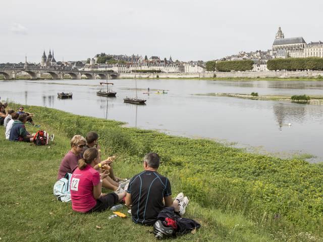 Picknick am Loire-Ufer © Patrice Mollet